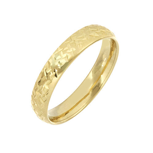 Bony Levy Gold Essential Rings