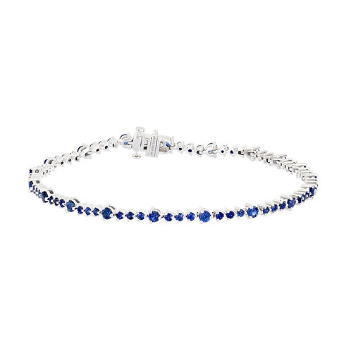 El Mar Sapphire Tennis Bracelet