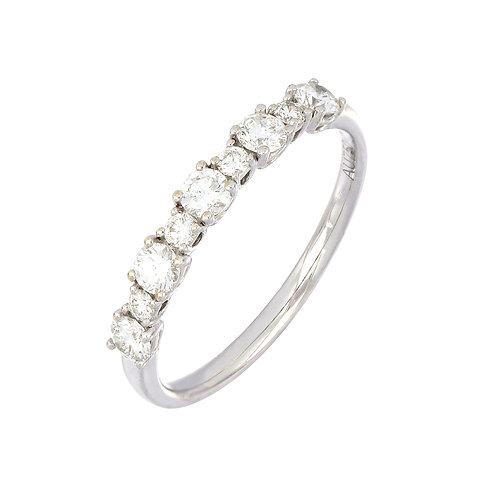 Mixed Size Diamond Stackable Ring