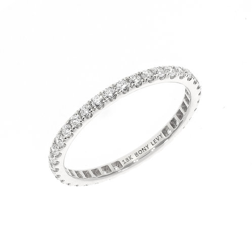 Audrey Diamond Eternity Stackable Ring