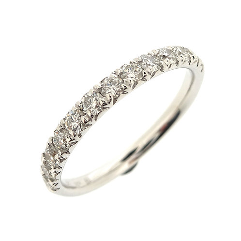 Kiera French Cut Stackable Band