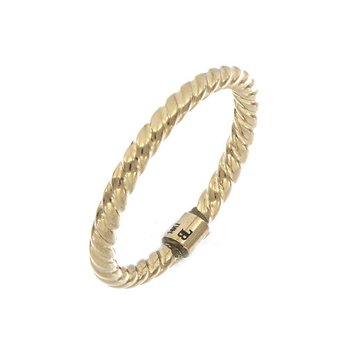 Bony Levy Gold Weaved Ring