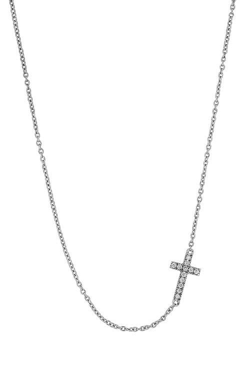 Pavé Cross Pendant