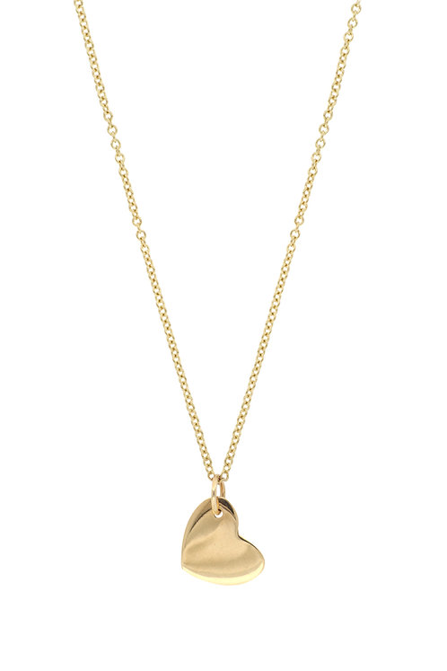 Bony Levy Gold Heart Charm Pendant