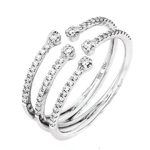 Mila Open Cuff Ring