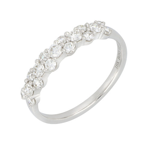 Rita Tw-Row Diamond Ring