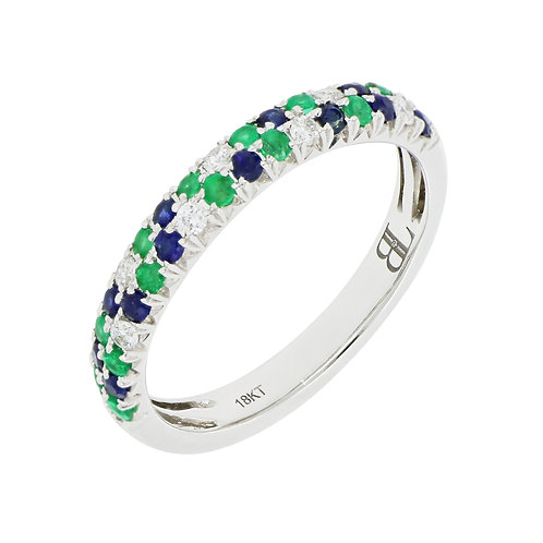 Sapphire and Emerald Stackable