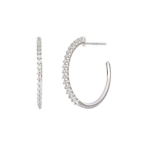 Liora Diamond Hoops