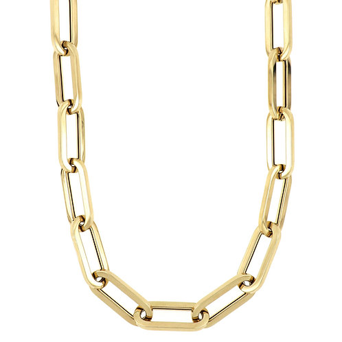 """14K 18"""" LARGE LINK CHAIN"""