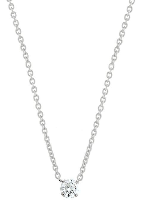 Liora Medium Solitaire Pendant
