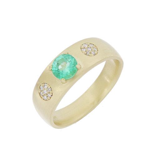 Emerald Talisman Ring