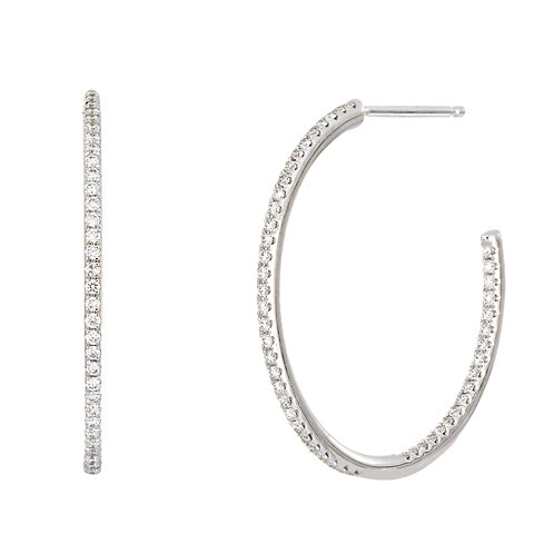 Bardot All-Day 25MM Hoops