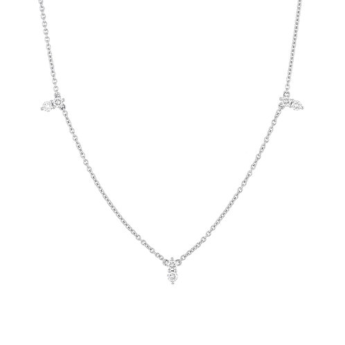 Rita 3 Station Necklace