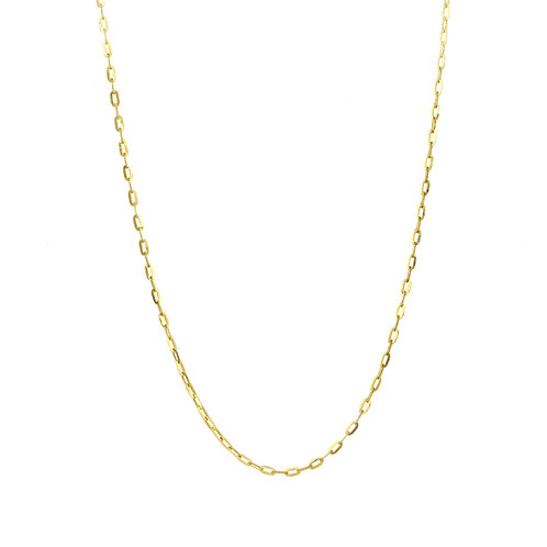 Bony Levy Gold Mini Chain Link Necklace