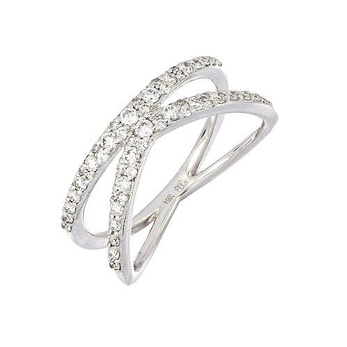Inverted Diamond Split Ring