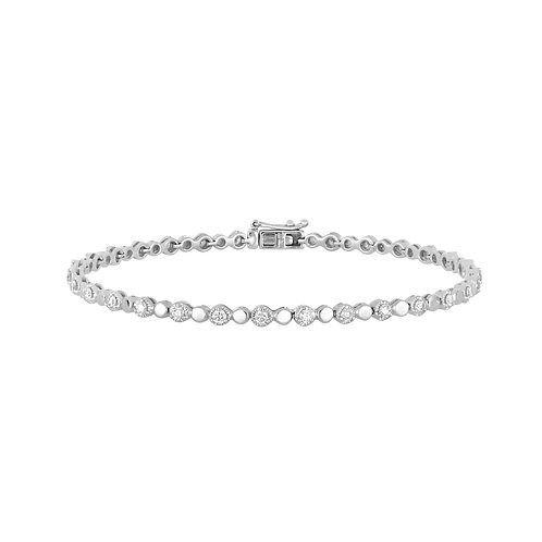 Mila Gold and Diamond Bracelet