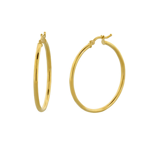 Bony Levy Medium Hoops