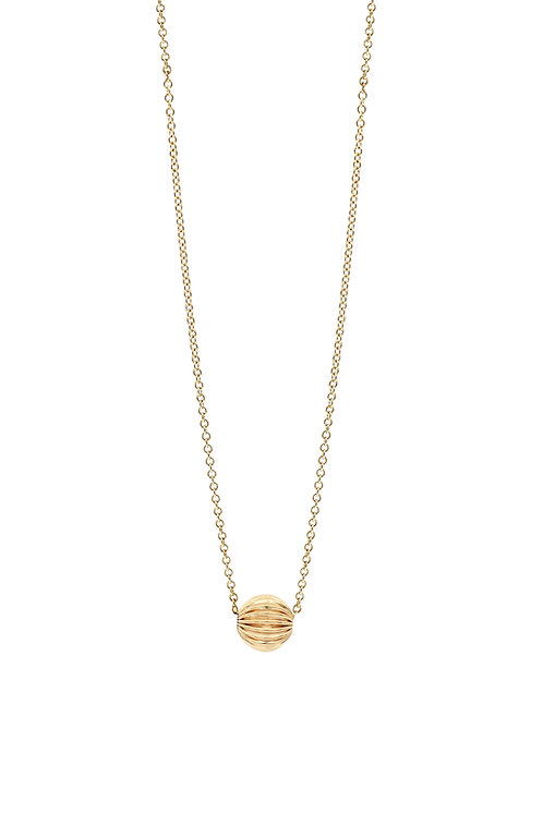 Bony Levy Gold Bead Necklace