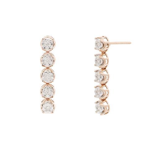 Varda Lux Linear Earrings