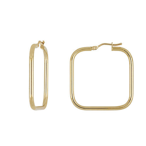 Bony Levy Square Hoops