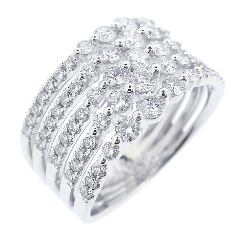 Liora 5 Row Cocktail Ring