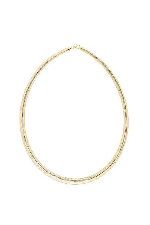 Ofira Omega Mesh Necklace