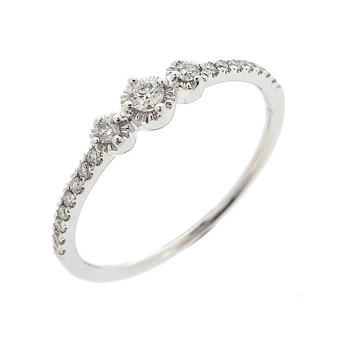 Mila Three Station Stackable Ring