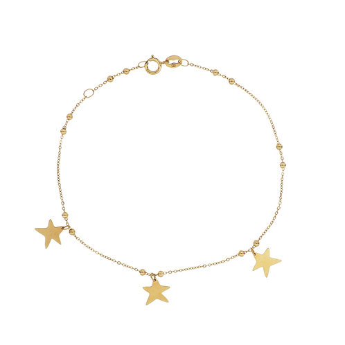 Bony Levy Gold Star Bracelet