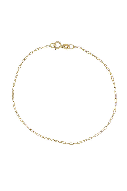 Bony Levy Gold Essential Chain Bracelet