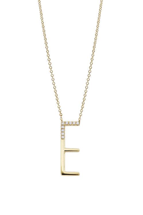 Kiera Initial Pendant 'E'