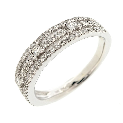 Liora Three Row Stackable Ring