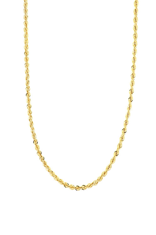 """14k 22"""" THICK ROPE CHAIN"""