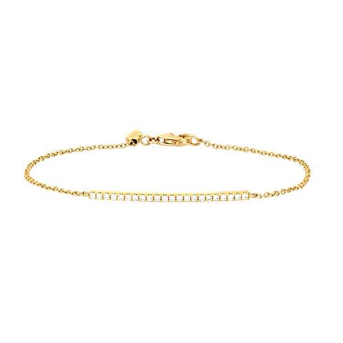Bardot Bar Adjustable Bracelet