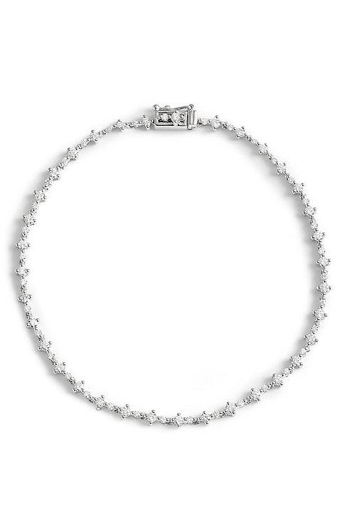 Botanical Tennis Bracelet
