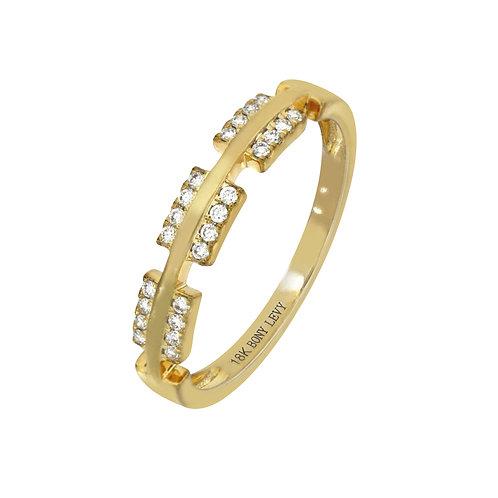 Kiera Bar Stackable Ring