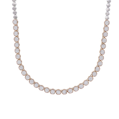 Varda Lux Tennis Necklace