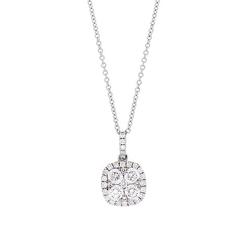 Mika Diamond Cluster Pendant