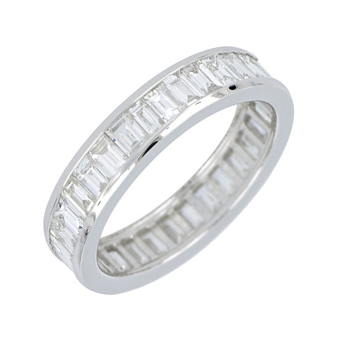 Baugette Dia Eternity Band