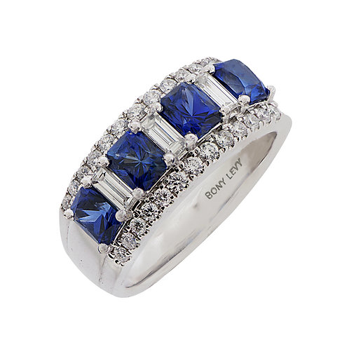 Sapphire and Diamond Wide Band