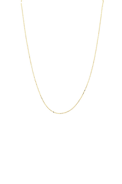 Bony Levy Gold Beaded Chain Necklace