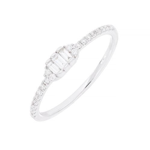 Gatsby Three Stone Ring