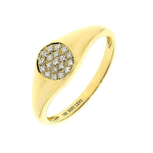 Kiera Classic Signet Ring