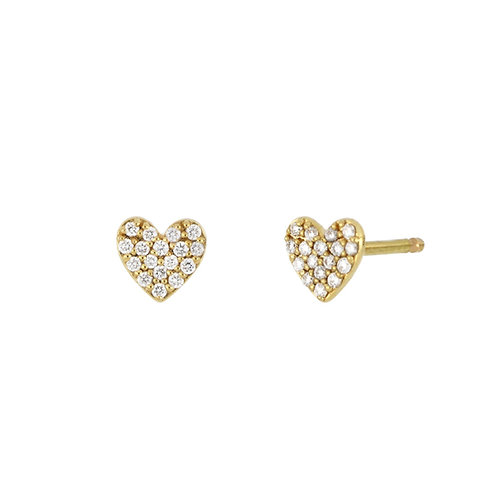 BL Icons Mini Heart Studs