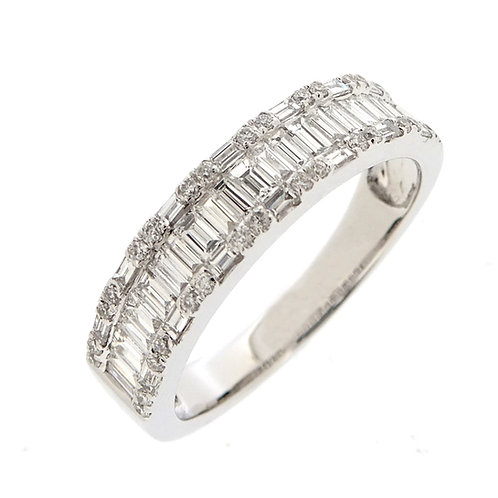 Baugette Diamond Ring