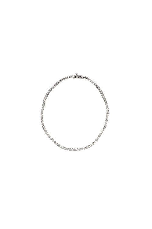 Classic Thin Diamond Tennis Bracelet