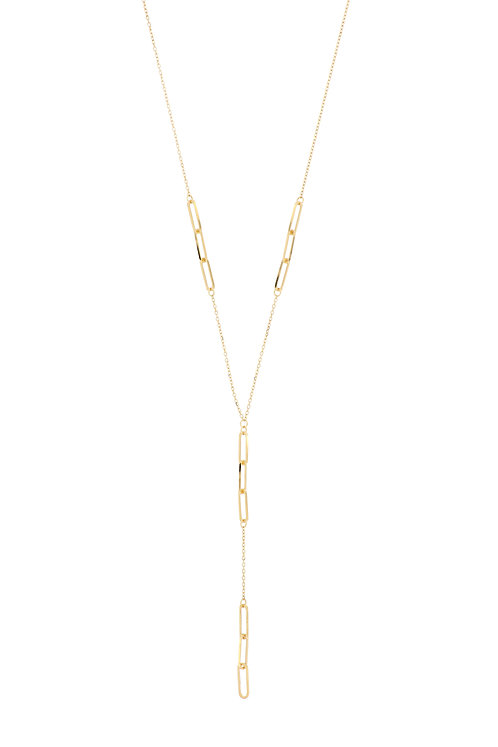Ofira Station Link Y-Necklace