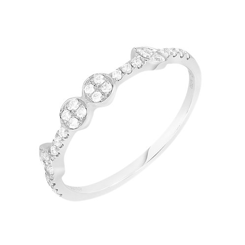 4 Circle Station Stackable Ring