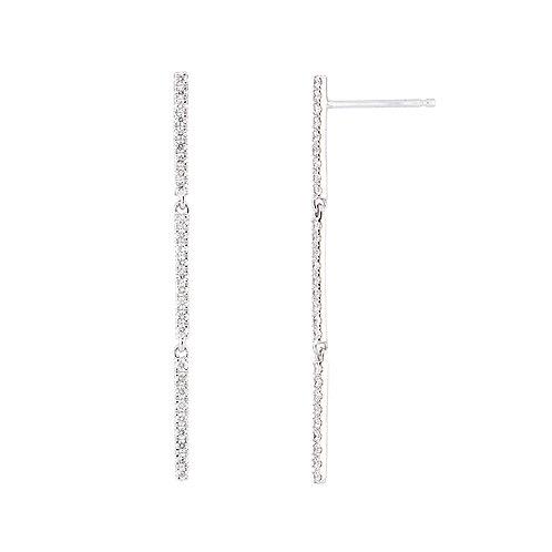 Drop Bar Linear Earrings