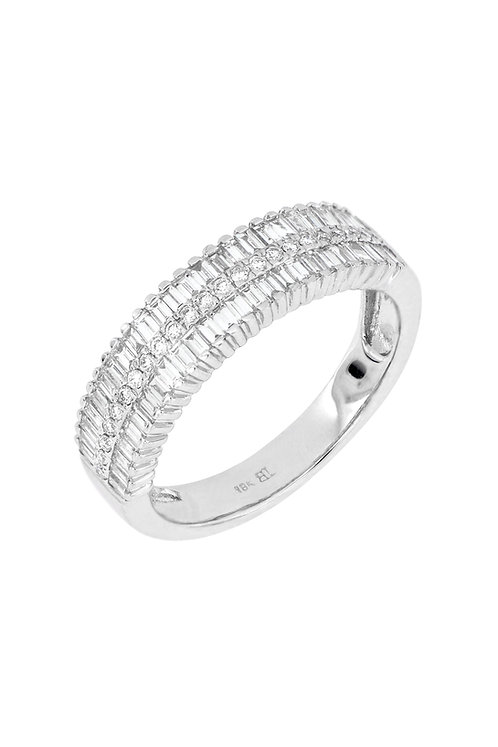 GATSBY TAPERED BAGUETTE BAND