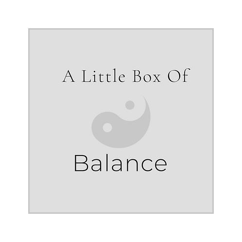 A Little Box Of Balance
